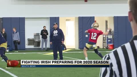 Notre Dame Football prepares for upcoming season
