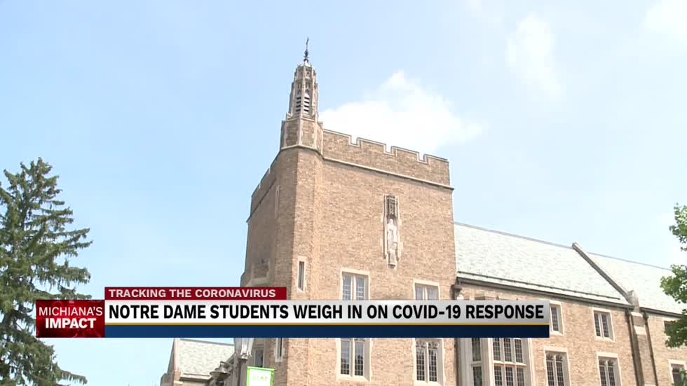 Notre Dame students question school's COVID-19 response