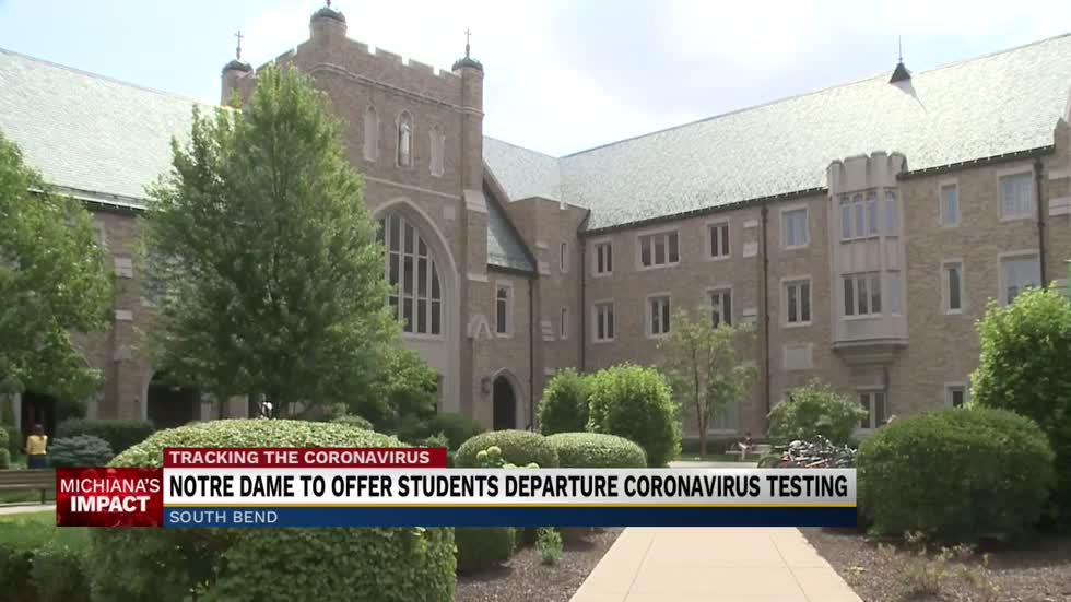 Notre Dame to offer end-of-semester COVID testing for students
