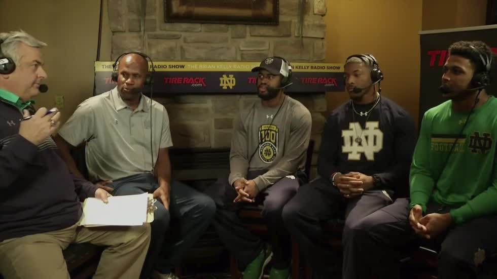 Notre Dame vs. Miami: Brian Kelly radio show