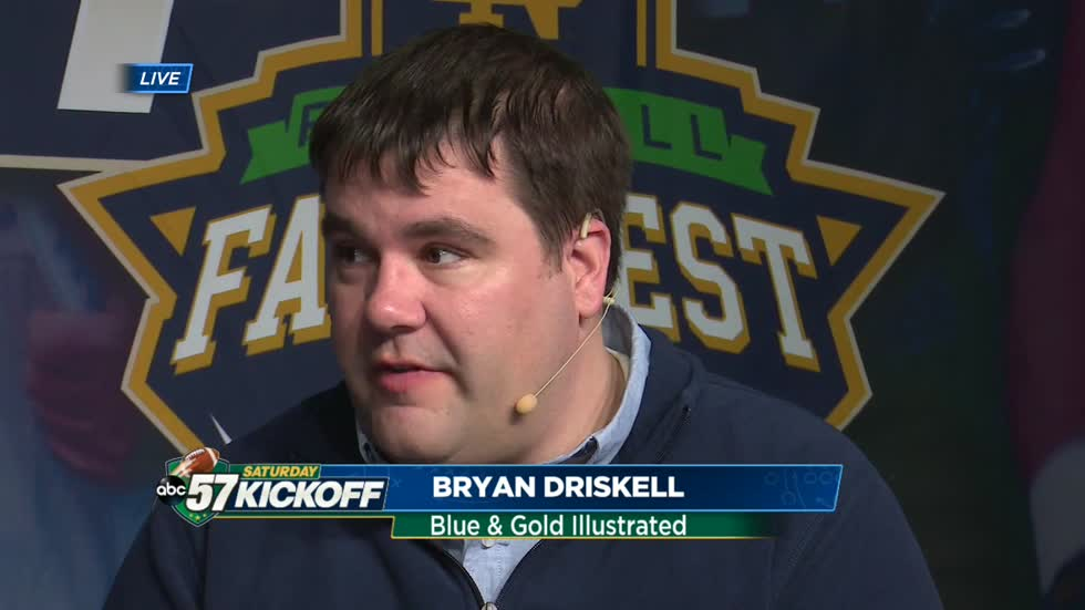 Notre Dame vs Navy: On the Mend with Bryan Driskell