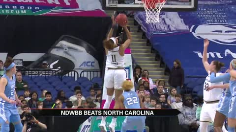 Notre Dame women's basketball team advances in ACC Tournament