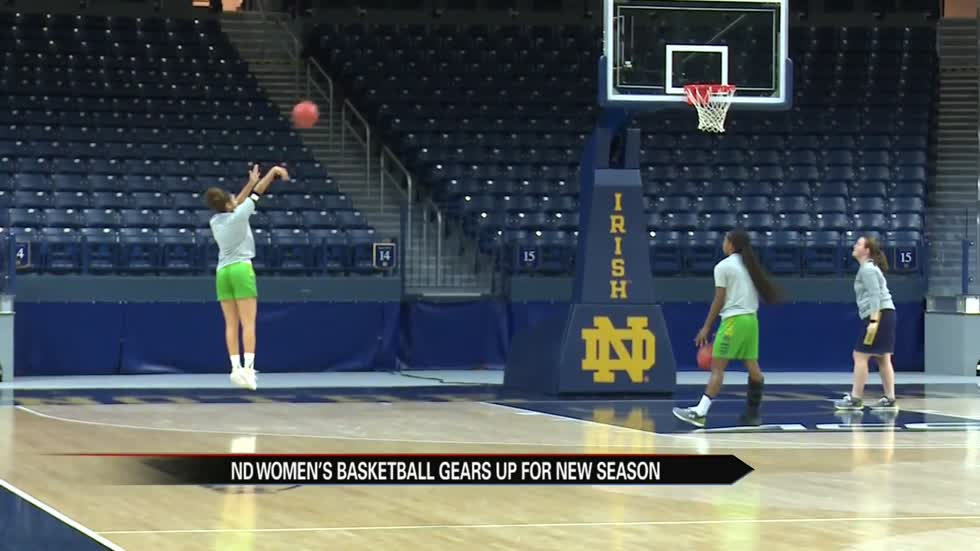 Notre Dame women's hoops preparing for challenges in new season