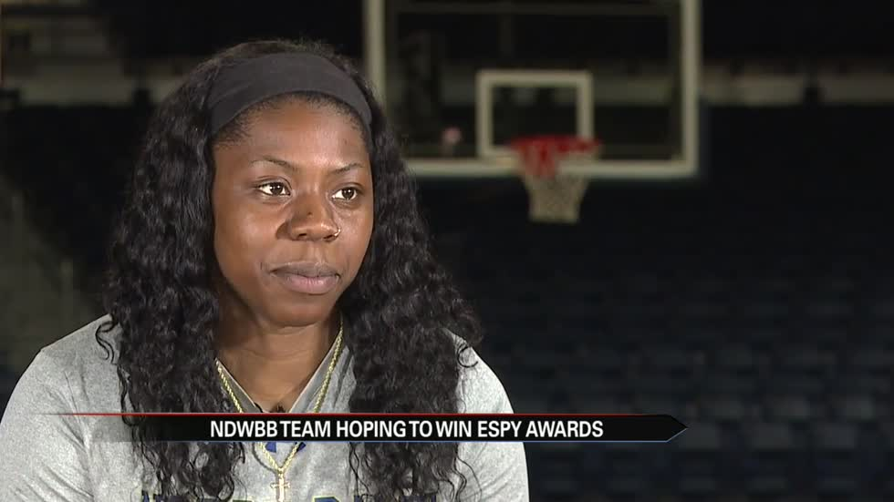 Notre Dame's women's basketball team hopes to win ESPY Awards