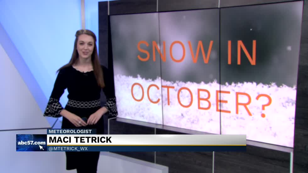 First snow dates in Michiana: October snowfall not uncommon