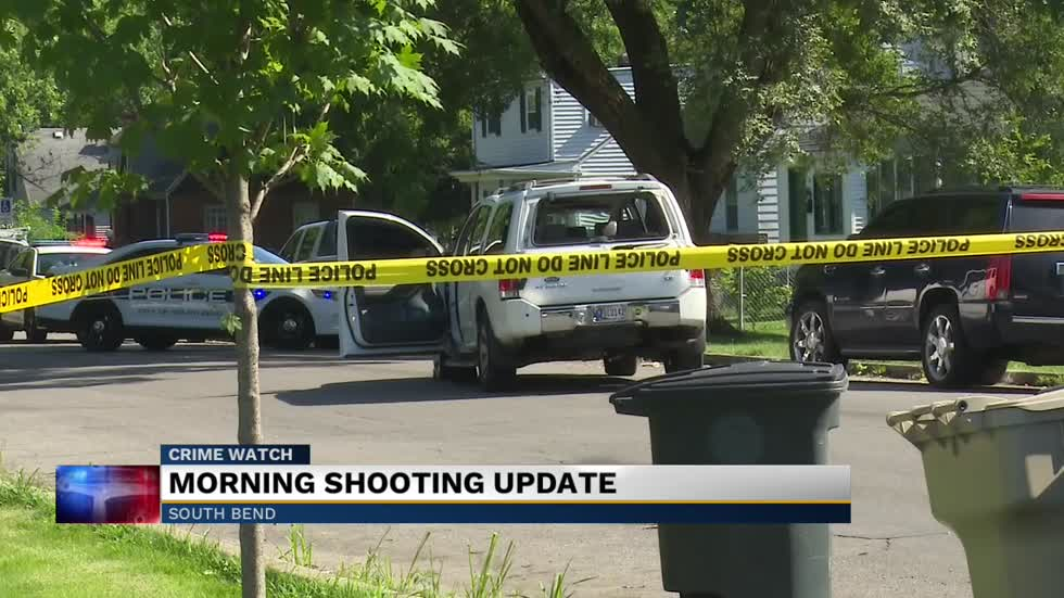 Officers investigating shooting in South Bend, searching for second victim