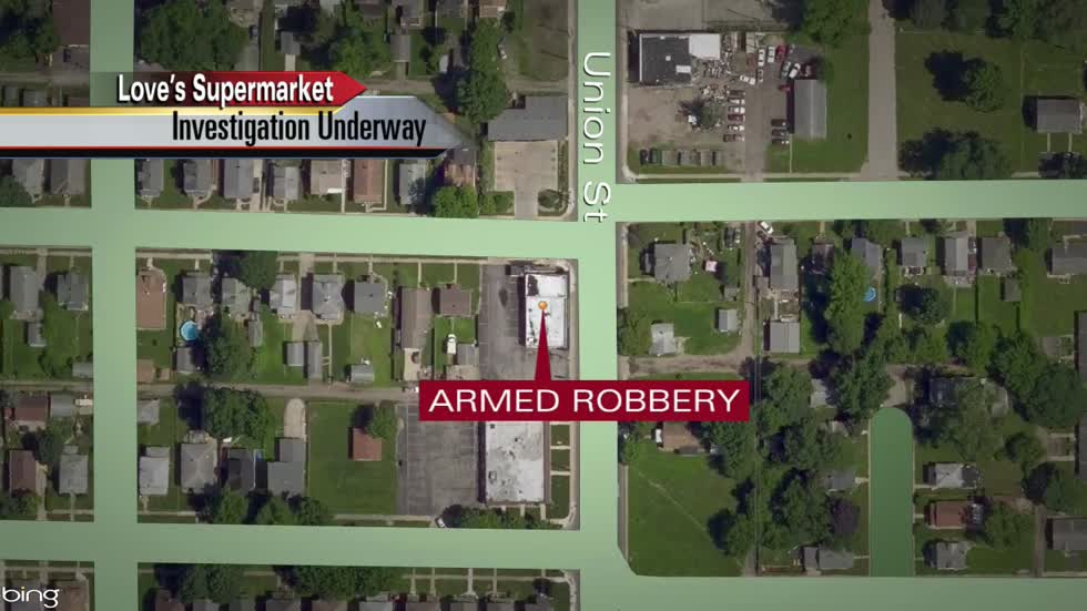Officers searching for armed robbery suspect in Mishawaka