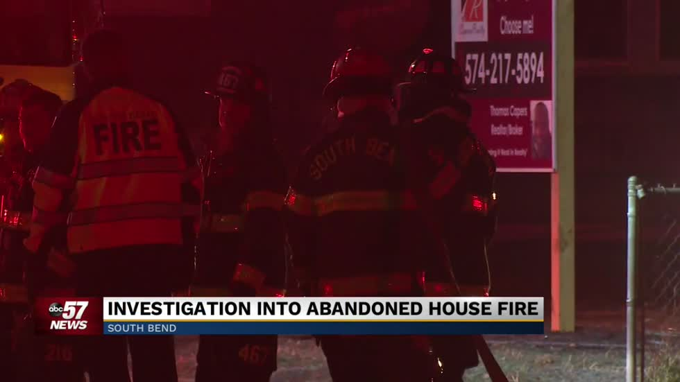 Officials looking into early morning house fire in South Bend