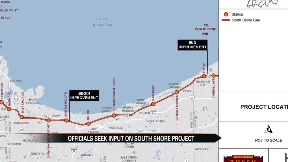 South Shore Line officials seek input on double tracking project