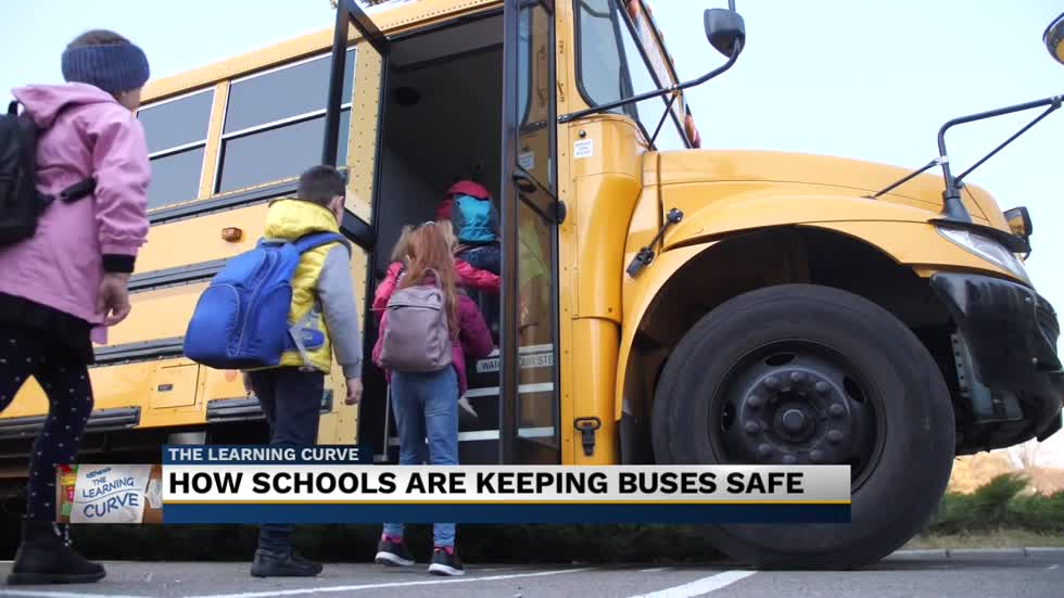 Officials talk school bus safety ahead of reopening