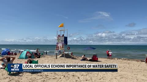 Officials warning public about water safety at local beaches