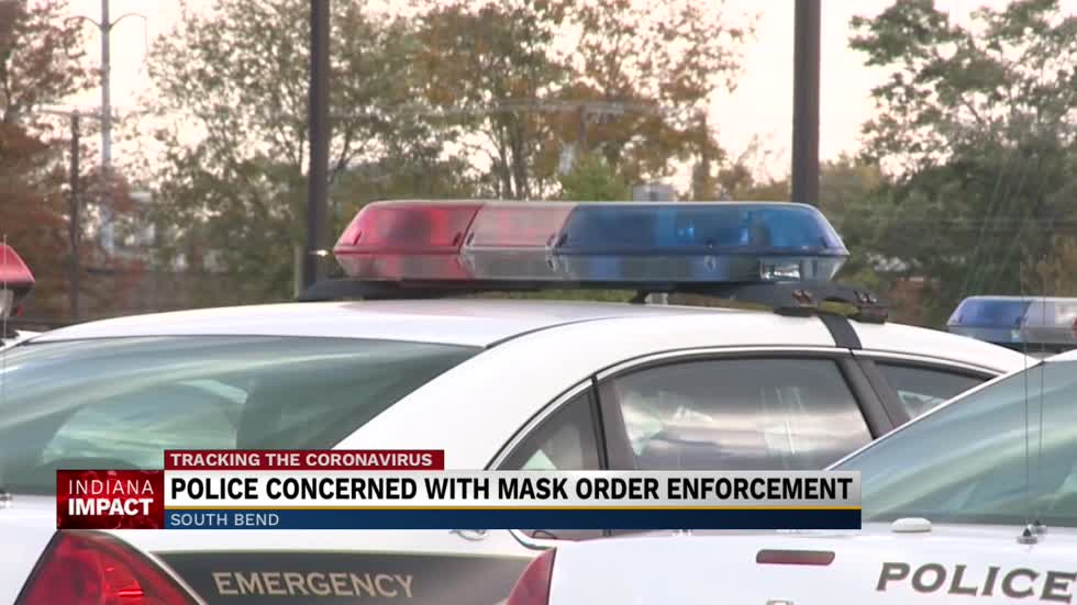 Officials weigh in on enforcement of Indiana's new face mask mandate