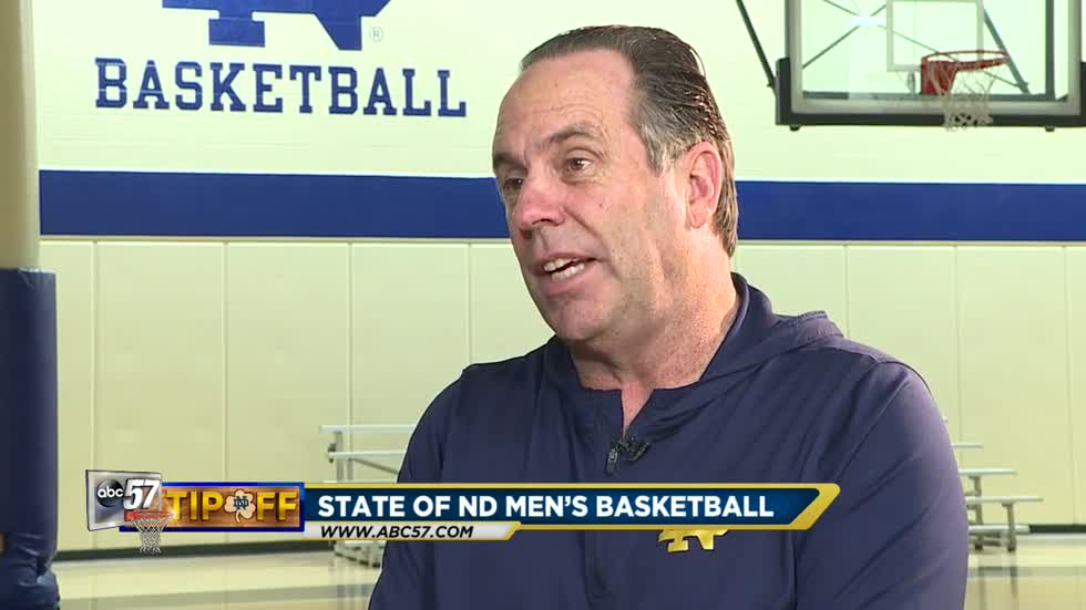 One on one with Coach Mike Brey about the state of the program