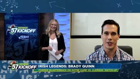 One-on-one with Irish legend Brady Quinn