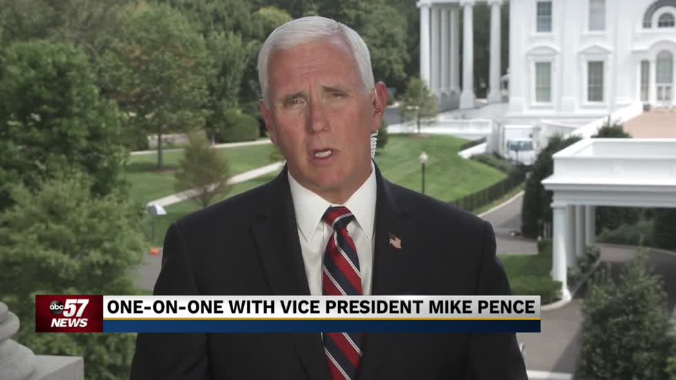 One-on-one with Vice President Mike Pence