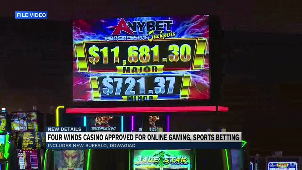 Online gaming and sports betting launches in Four Winds Casino in Michigan