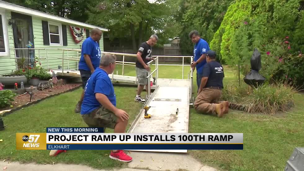 Operation Ramp It Up installs 100th ramp in Michiana
