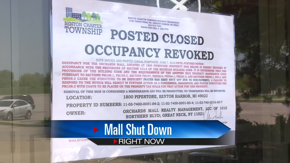 Orchards Mall shut down amid delinquent utility bills