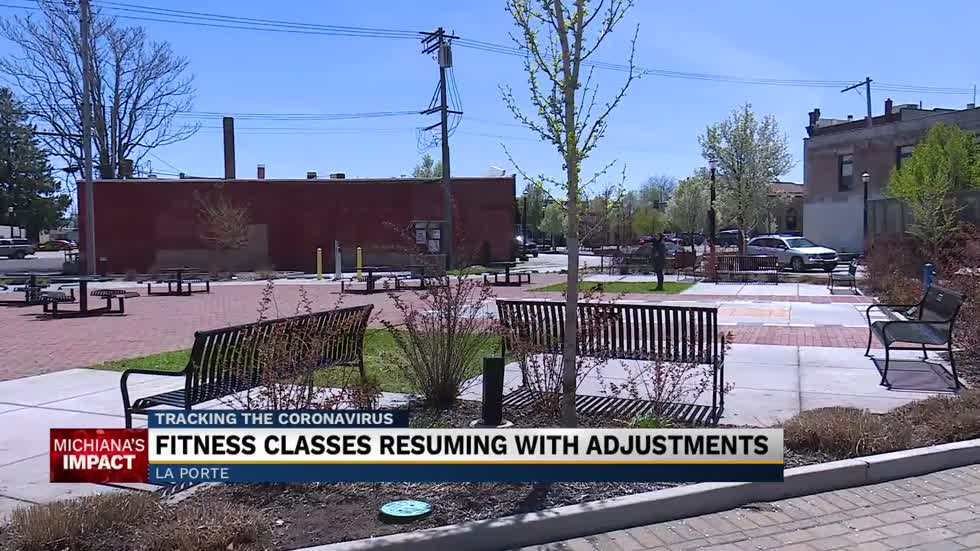 Group fitness classes to resume outdoors
