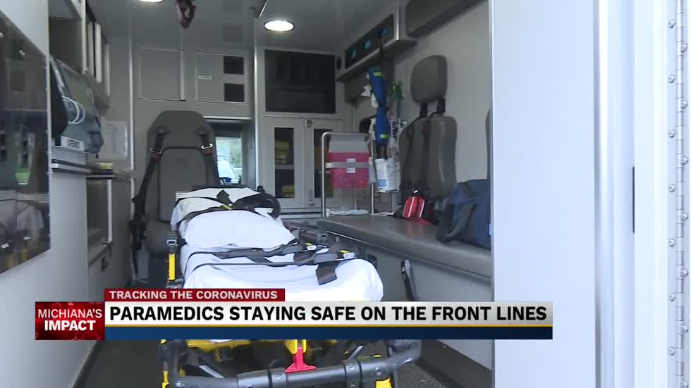 Paramedics are gearing up and staying safe amid pandemic