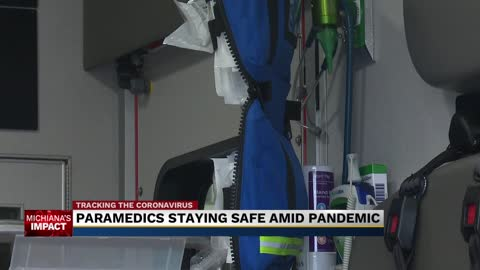 Paramedics are gearing up and staying safe amid pandemic 2