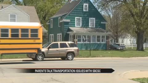 Parents meet with South Bend schools to talk transportation troubles