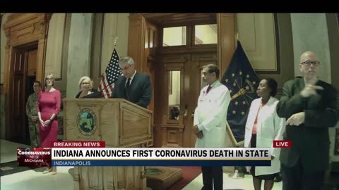 Governor announces first COVID-19 death in Indiana