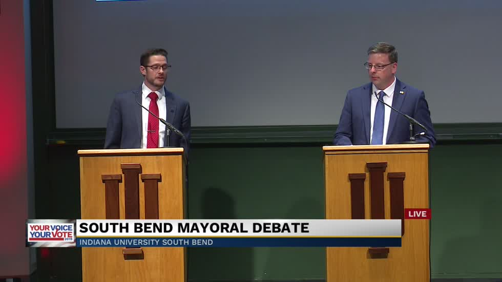 WATCH: South Bend mayoral candidate debate