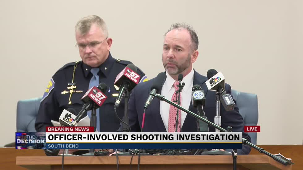 Press conference: Special prosecutor announces results of investigation into Eric Logan's death