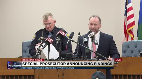 Part 2: Special prosecutor press conference - Eric Logan shooting