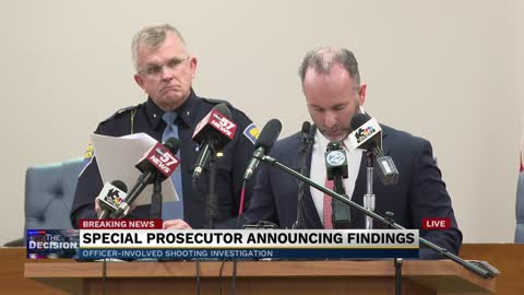 Part 3: Special prosecutor press conference - Eric Logan shooting