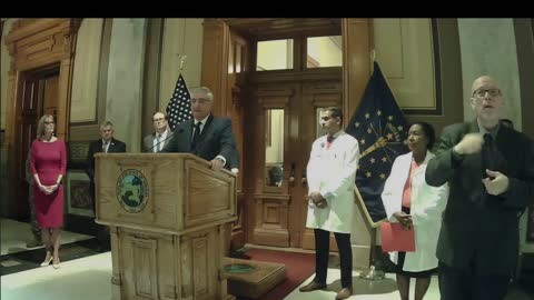 Part 4: Governor Holcomb press conference