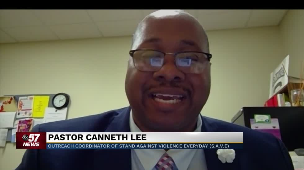 Pastor Canneth Lee discusses violent weekend in South Bend