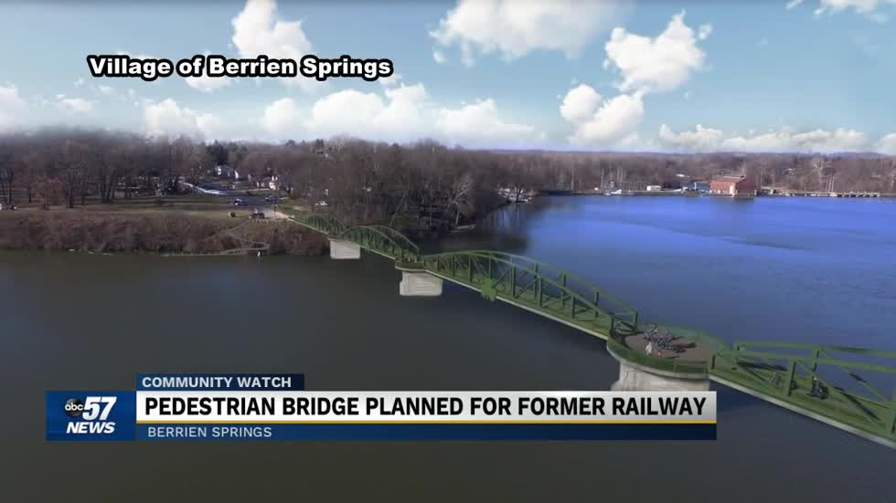 1,300 foot pedestrian bridge planned for former railway over Lake Chapin