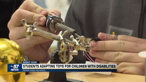 Penn High Robotics Team transforming toys for children with disabilities