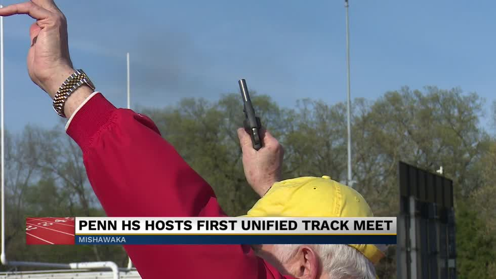 Penn HS hosts its first Unified track meet