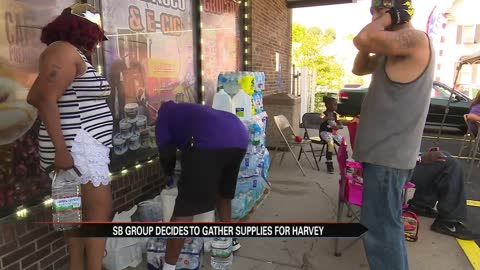 People of South Bend look to help Harvey victims