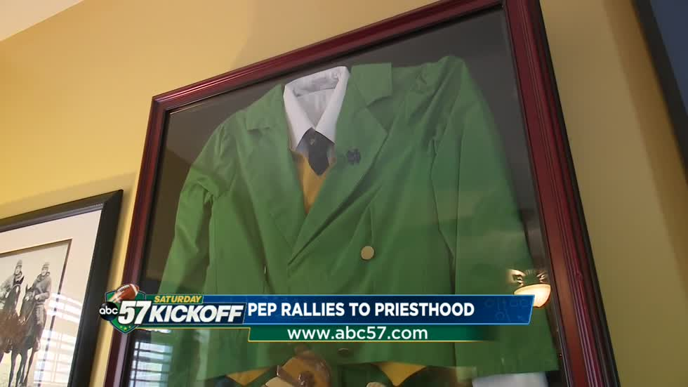 Pep rally's to priesthood: How a former ND lephrechaum became a priest