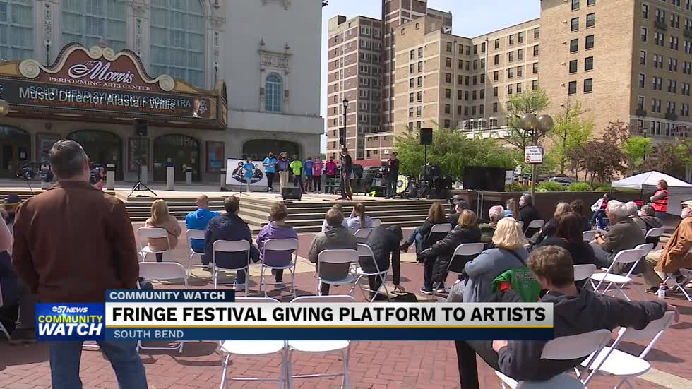 Performers given platform at South Bend Fringe Festival