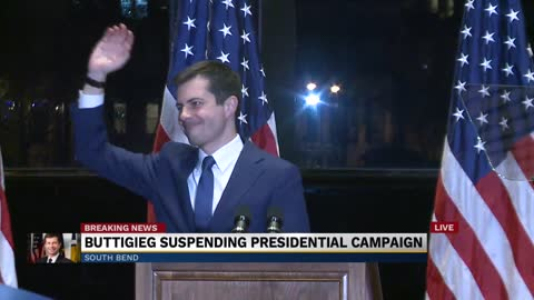 Pete Buttigieg officially suspends presidential campaign Part...