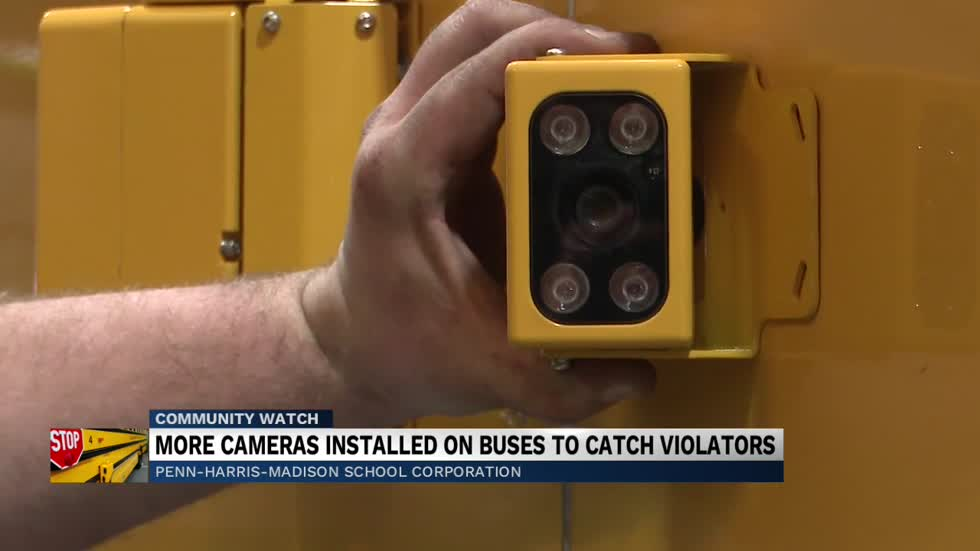 PHM schools introduce stop-arm cameras on buses