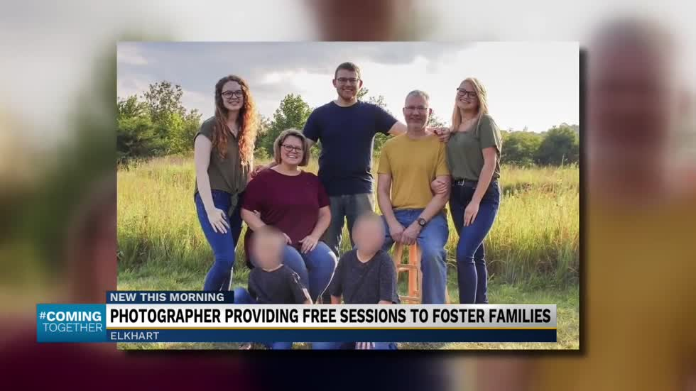 Elkhart photographer offering free photo sessions for foster families