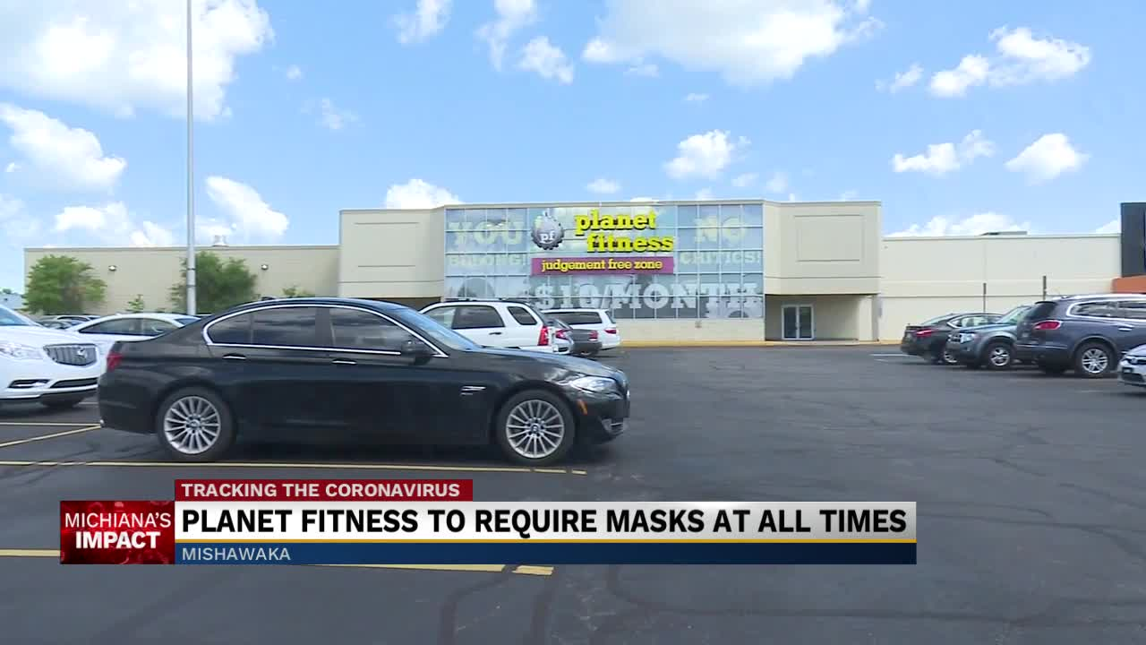 Planet Fitness To Require Face Masks At All Times Starting Saturday