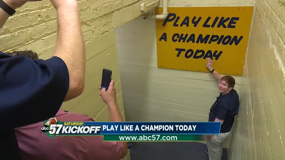 Play Like A Champion Today: The story behind the iconic sign