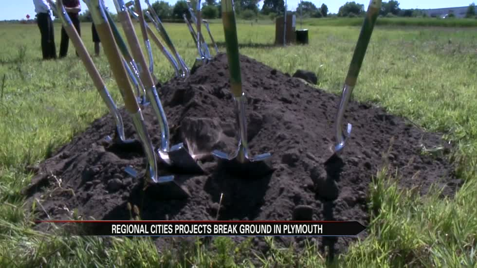 Groundbreaking held for new Plymouth aquatic center