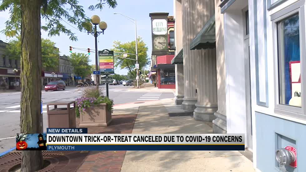 Plymouth cancels annual Downtown Merchants' Trick or Treat