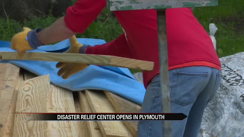 Disaster recovery center opens in Plymouth