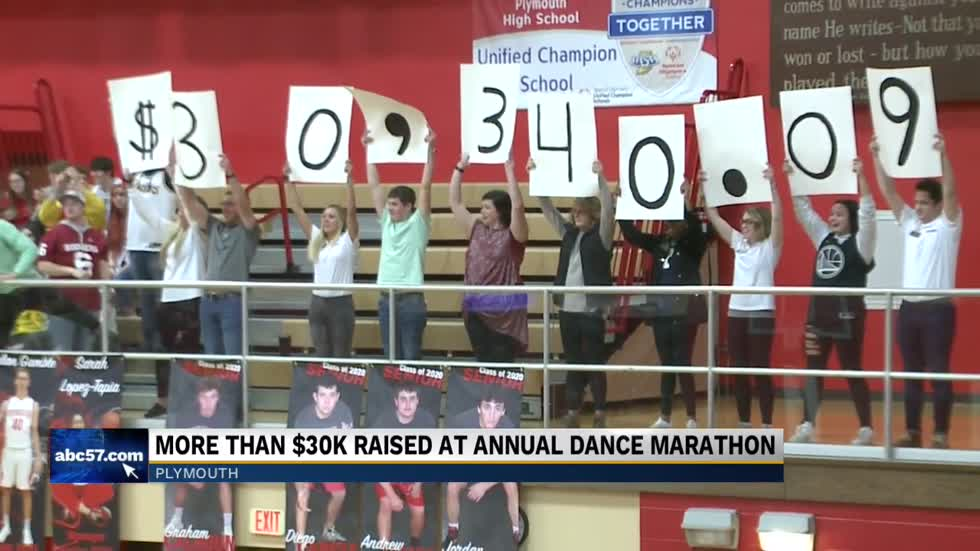 Plymouth High School hosts annual dance marathon