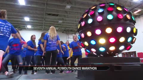 Plymouth students reach goal for Dance Marathon