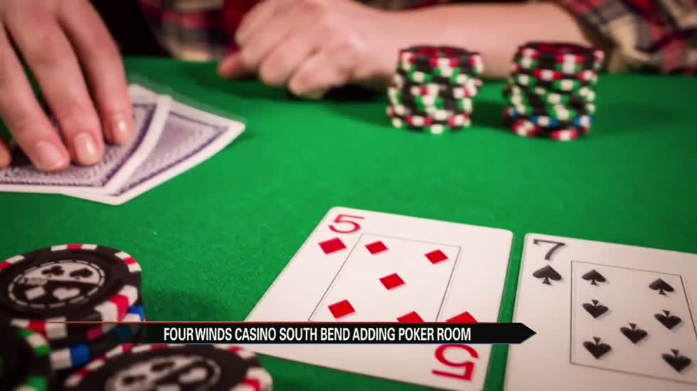 Poker room announced at Four Winds South Bend